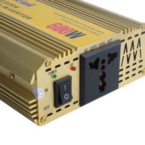 600W Pure Sine Wave Power Inverter
