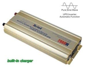 2000W Pure Sine Wave Power Inverter UPS