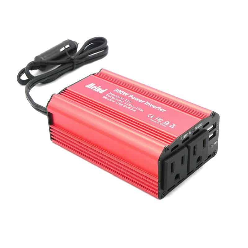 300w Modified Sine Wave Power Inverter With Dual American